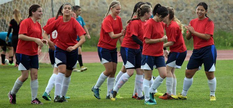 Στην τελική τετράδα 2017 η ομάδα ποδοσφαίρου κοριτσιών του 1ου ΓΕΛ Σπάρτης